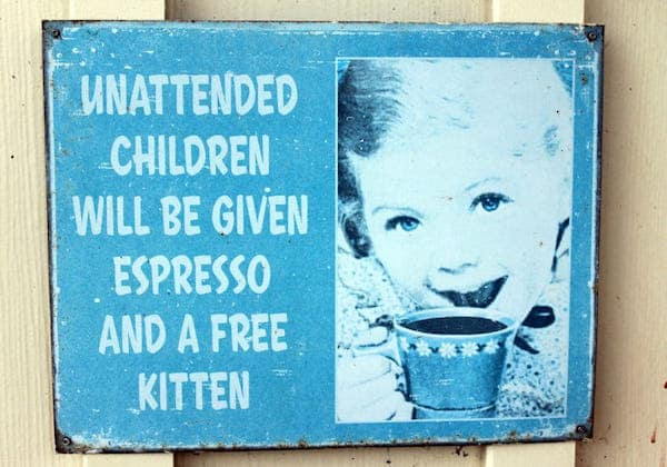 Unattended-Kids-Sign