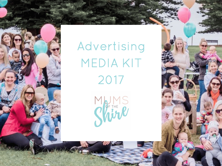 Mums of the Shire - Advertising Media Kit