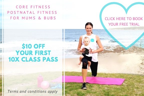 Core Fitness Mums and Bubs Bootcamp