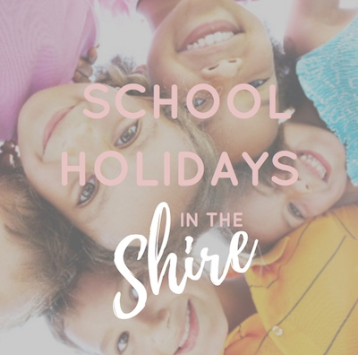 School Holidays in the Shire