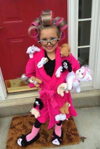 Halloween Costume Cat Lady