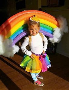 Halloween Costume Rainbow