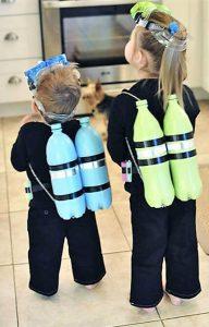 Halloween Costume Scuba Diver