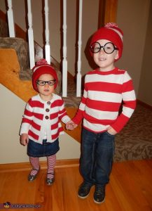 Halloween Costume Where's Wally