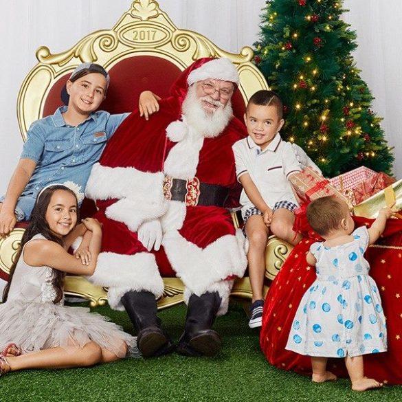 Santa Photos at Westfield Miranda