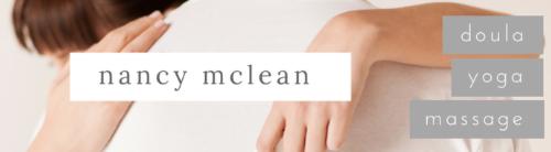 Nancy McLean – Doula Yoga Massage