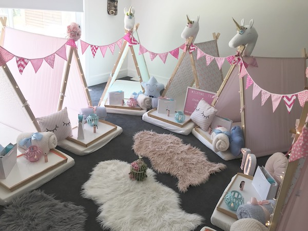 Party with Angel's Teepees Slumber and Spa