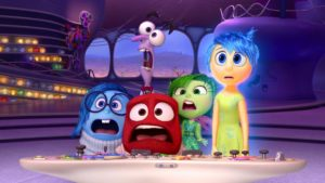 Inside out - Pixar Kids Movie about feelings