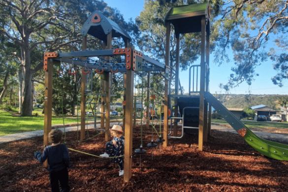 Mansion Point Reserve playground Grays point
