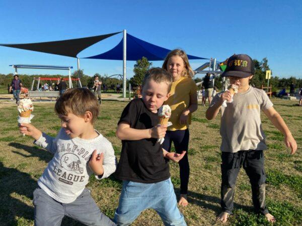 Bonna Point Reserve, playground Kurnell