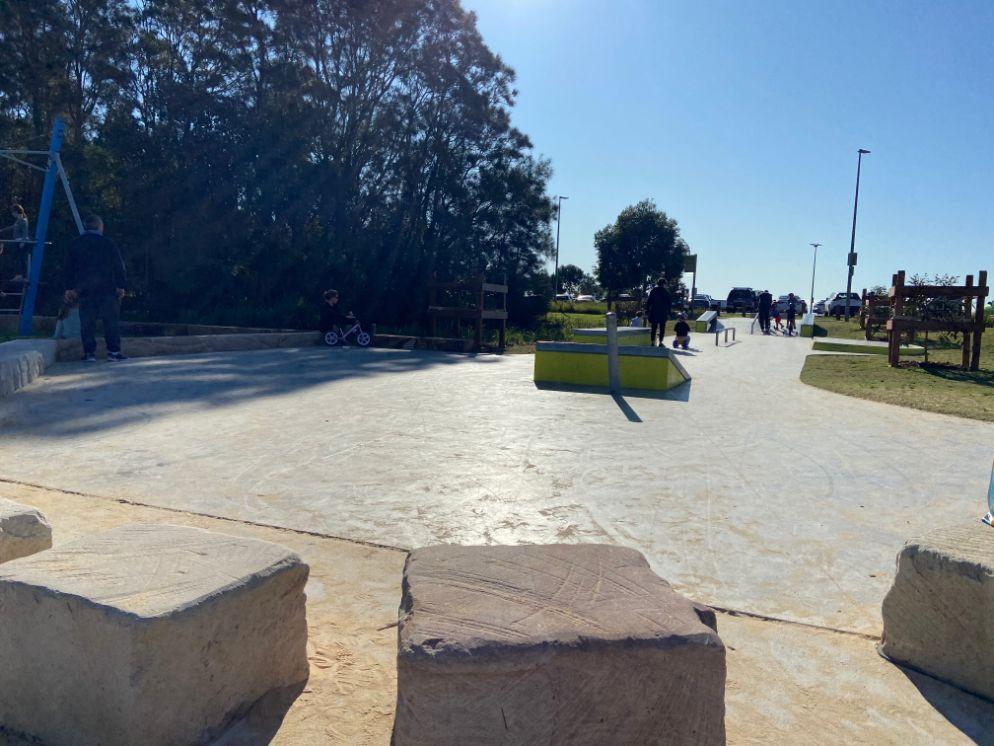 Bonna Point Reserve, playground Kurnell - skate park