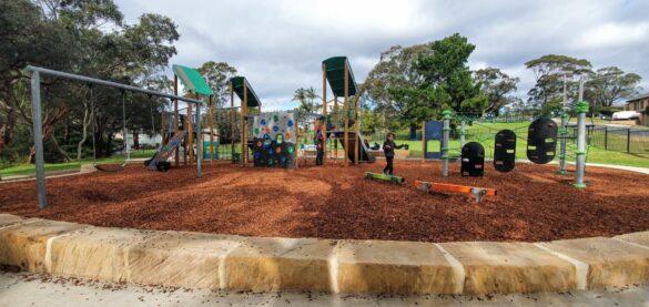 Woronora Rd Reserve Playground Engadine - Sutherland Shire playgrounds