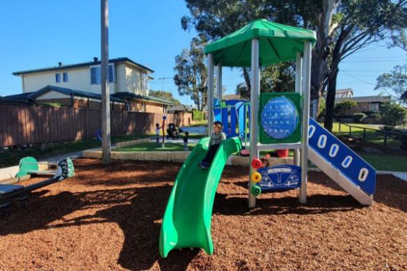 Freay st playground kareela