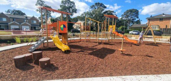 Mathers place playground menai