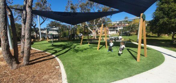 Berrima St Reserve and Playground in Heathcote
