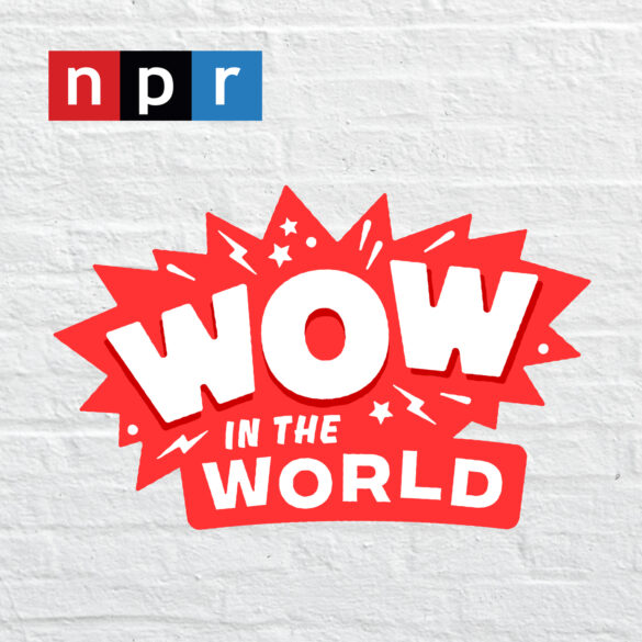 Wow in the world podcast logo