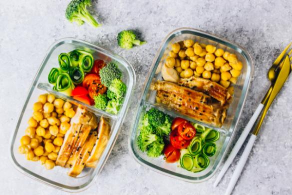 Protein-rich meals