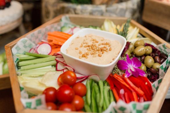 healthy vegetable platter