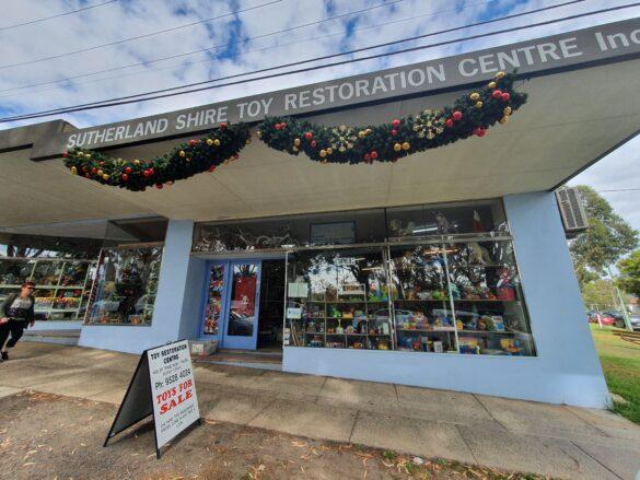 Sutherland Toy Restoriation Centre shopfront in Jannali