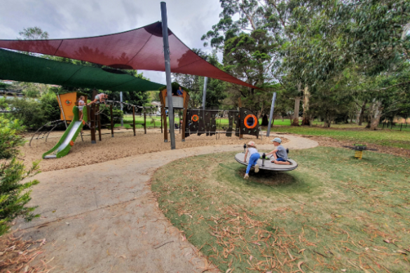 Oyster Bay Oval and Playground