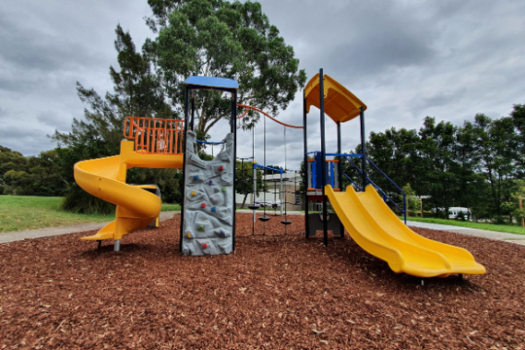 Ross Reserve and playground at Bangor