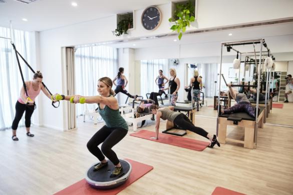 Women in Focus gym