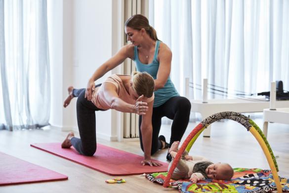 Women in Focus - Pilates with new Mum