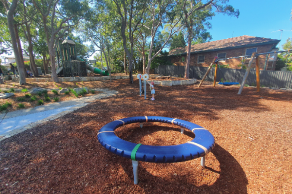 Green Point Reserve, Oyster Bay playground swings