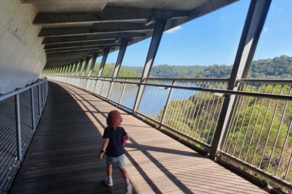 Woronora bridge walk views