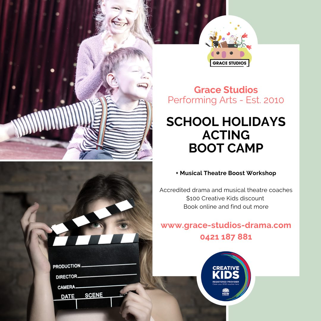 April School Holidays Acting Boot Camp with Musical Theatre Boost