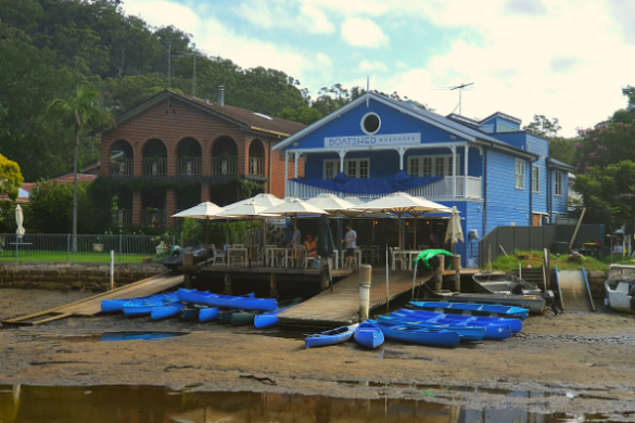 Woronora the boat shed