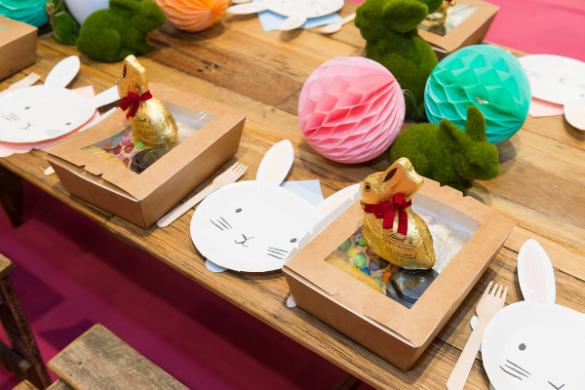 Westfield-Miranda-Easter-Bunny-Eggstravaganza-brunch-table-setting