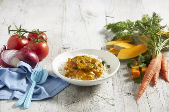 go!Kidz new meal delivery range - butter chicken