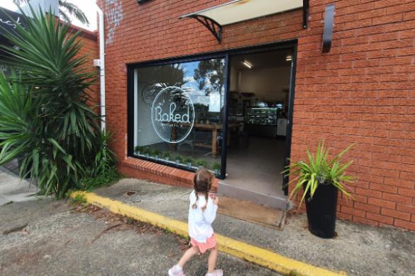 Baked Patisserie shopfront