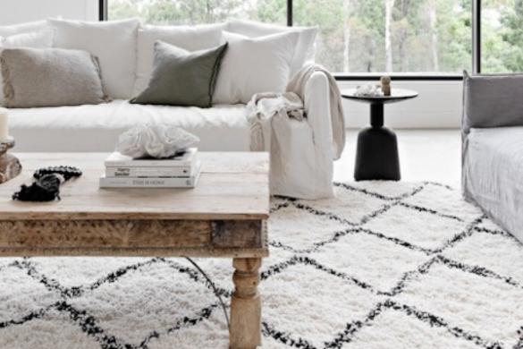 James Lane furniture in lounge room