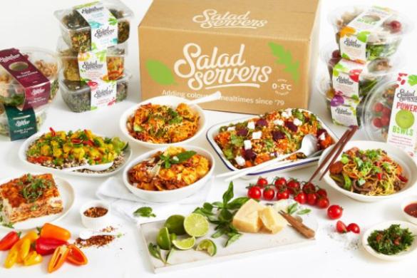 Salad servers meal range