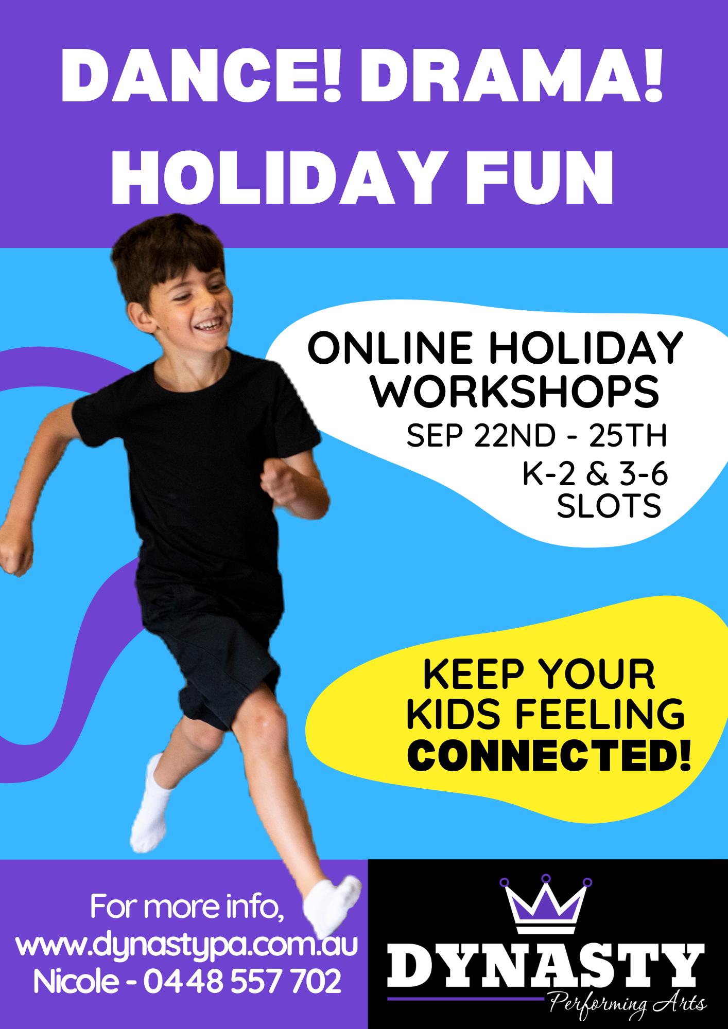 K-6 Online Workshops