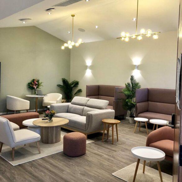 Club W Cronulla wellness lounge