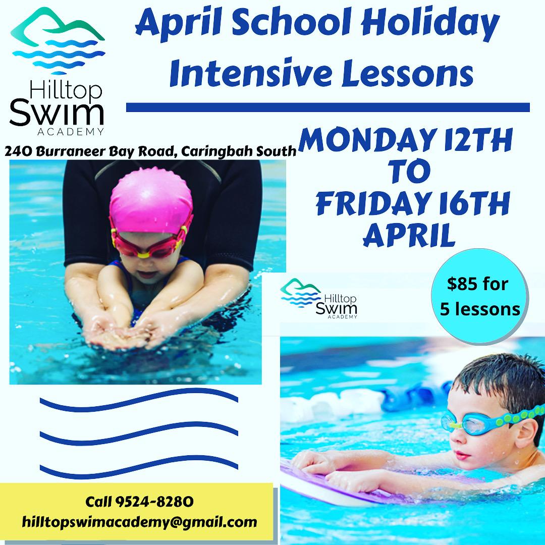 Hilltop swim academy intensive lessons